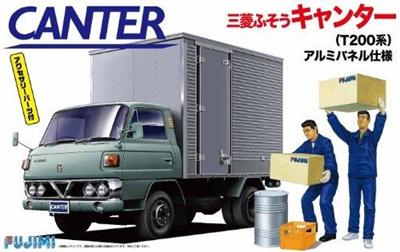 Qoo10 - Fujimi 1/32 Tracks Leeds No 4 Mitsubishi Fuso Canter