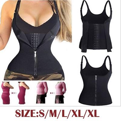 da73a4169c Qoo10 - Full Body Shaper Black Latex Waist Trainer Cincher Underbust Corset  Sh...   Women s Clothing