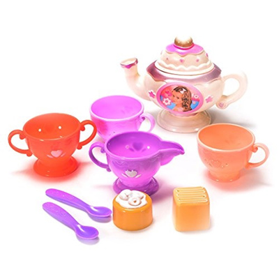 qoo10 funslane funslane tea party set for preschool kids plastic teapot a toys. Black Bedroom Furniture Sets. Home Design Ideas