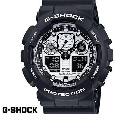 20e5532ff41e Qoo10 - G - SHOCK CASIO Watch Men  s GA - 100 BW - 1A Deniana ...