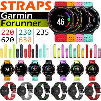 Garmin Forerunner 220/230/235/620/630 Soft Silicone Watch Strap Replacement  Wrist Watch Band