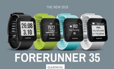 how to change date garmin forerunner 35