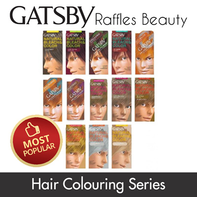 GatsbyGatsby Hair Colour Dye Bleach Color DIY Treatment Spray Wax Coloring  Series- Tonic Youthful Looking!