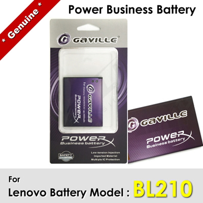 Gaville Power Business Battery For Lenovo A770E S650 A750E S820 S696 A658T A656 A766 BL210 BL