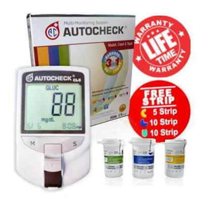 GCU Autocheck (Blood Sugar, Gout, Cholesterol)