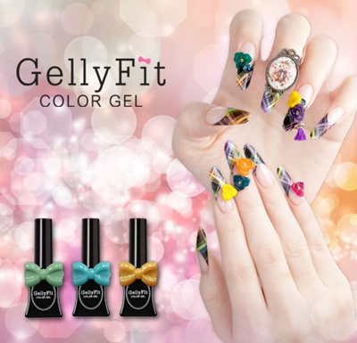 Gellyfit Gel Polish fro Korea  Professional Beautiful Gel nail color you  will love
