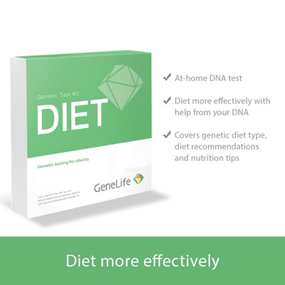 GeneLife[GeneLife Diet] DIY DNA testing kit Identify your Genetic Body type  results in 4 weeks