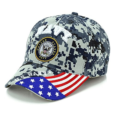 GenericGeneric US Military Baseball Cap Adjustable Offical Licensed Hat  Army Air Force Navy (Various Title)