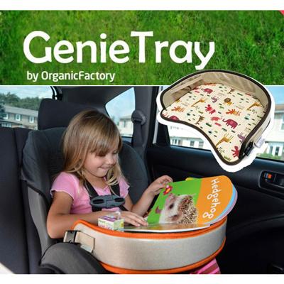 Genie Tray Car Seat Snack Excellent Portability Multi Purpose Waterproof Ultralight