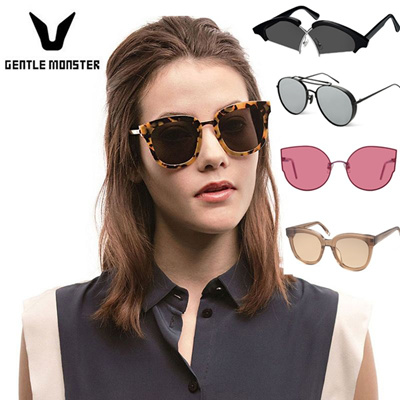 64ff24aa7be 2019 New Models Gentle Monster Sunglasses 100% Authentic KOREA Popular  Brand BLACK PETER IN SCARLET
