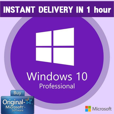 [Genuine Retail]Windows 10 Pro Permanent Activation Key☆Free Office 365  ☆NOT OEM/MSDN/Volume License