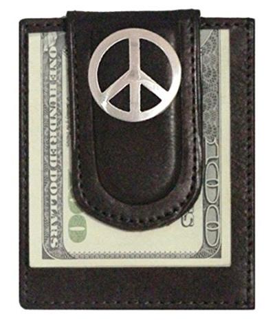 Qoo10 - (Genuine Texas Brand) Custom Peace Sign Paul and Taylor Money Clip  Wal...   Bag   Wallet e4614d8c00e6e