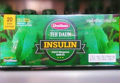 Gholiban Insulin Teabag
