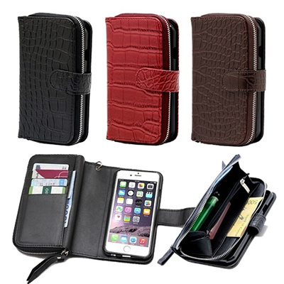 Qoo10 Gift Zipper Crochet Cellphone Case Mobile Diary Smart Iphone