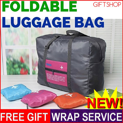 07186603a04b GIFTSHOP★GSS Bag Foldable Luggage Travel Sports Duffel Duffle Gym  Lightweight Waterproof Women Men Portable Suitcase Backpack Large Folding  Carry ...