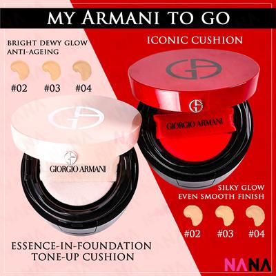 Giorgio Armani My Armani To Go Essence In Foundation Cushion Iconic Cushion Tone Up Cushion