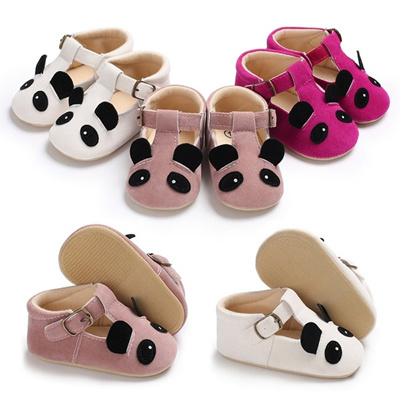 6f340169c0c4df Qoo10 - Girl Boys Baby panda Soft Sole Crib Shoes Toddler Sneakers Leather  Sho...   Baby   Maternity