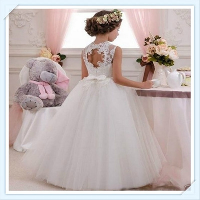 Wedding Flower Girl Dress Communion Party Prom Princess Pageant Bridesmaid Dress