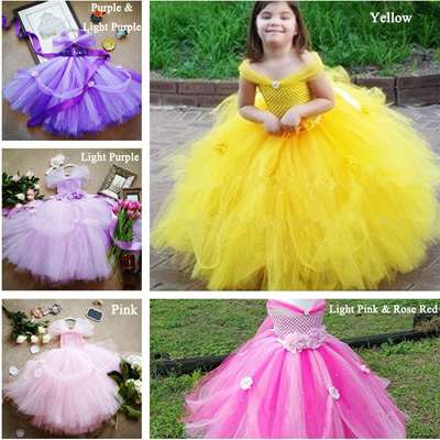 64eefc5358249 Qoo10 - Girl Princess Tutu Dress Baby Christening Christmas Dress Kids Tulle  T... : Kids Fashion
