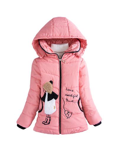f3c80c24ad62 Qoo10 - Girl s Winter Coat Cartoon Hooded Cute Girls Coat   Men s ...