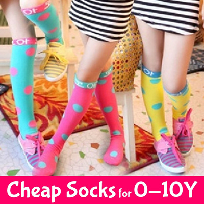 974b28e4c2727 Qoo10 - Girls High Socks : Kids Fashion