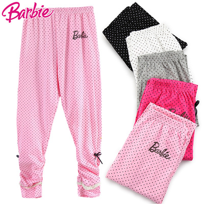 Qoo10 Girls Footless Barbie Wear Cotton In Spring And Autumn Thin
