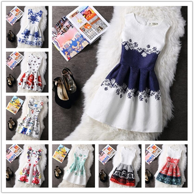 Qoo10 Girls Pretty Daisy Dress Girls Summer Fashion Clothes Kids