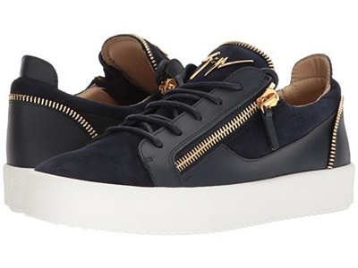 Giuseppe ZanottiMay London Zipper Low Top Sneaker wcJSF0r