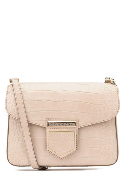 9e0dd06a04 givenchy BB05661472_657 Nude pink leather small Nobile shoulder bag