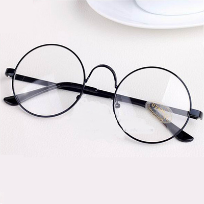 b0df8537b8 Glasses Frames Round Spectacle For Harry Potter Glasses With Clear Glass Women  Men Myopia Optical