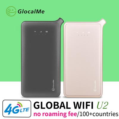 GlocalMe【OPEN SALE】GlocalMe Pocket Wireless Wifi Router Hotspot Roaming  Free 4G LTE High Speed Global Mifi