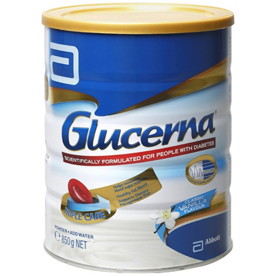 Qoo10 - Glucerna Triple Care Milk Powder Vanilla 850g ...