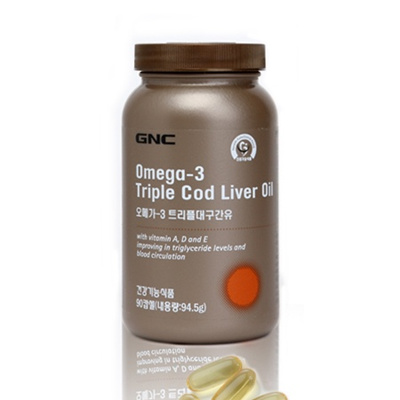 Qoo10 - GNC Omega-3 Triple Cod Liver Oil (90 softgels) Fish oil ... ca35a4b5f99
