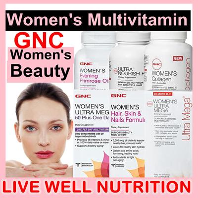 Qoo10 Women Multivitamins Gnc Women Ultra Mega 50 Plus