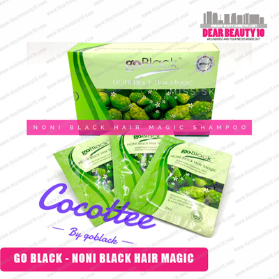 GO BLACK NONI BLACK HAIR MAGIC SHAMPOO - BETTER THEN BSY NONI BLACK HAIR MAGIC SHAMPOO