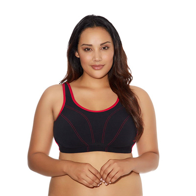 0e8ed6d6622 Qoo10 - Goddess Womens Plus-Size Soft Cup Sports Bra   Sports Equipment