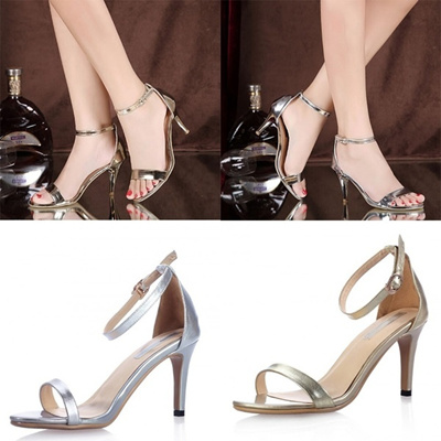 Pumps Sandals Gold Shoes Woman Fashion Gladiator Casual Sexy Platform Summer High 2016 Heels Silver FclKJT1