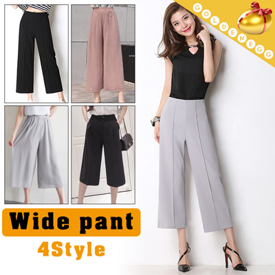 07f425a9d8ba ◇Casual Wide Pants for Woman◇Stylish Gaucho Pants  Summer n Autumn Fashion