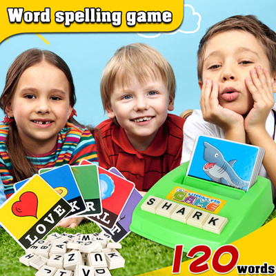 Qoo10 - Toy▷Word spelling game◁ Educational toy/ Early