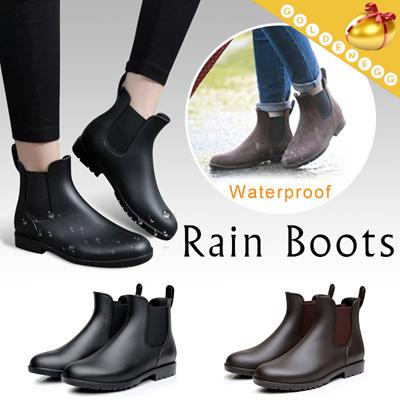 d6f1564d40 (UNISEX) ◇Stylish Chelsea Rain Shoes◇ Waterproof n Comfortable Rain Boots-2