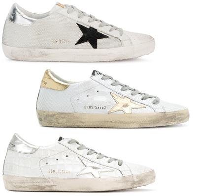 Golden Goose  18SS Golden Goose Super Star Sneakers   Free Shipping   VAT 1cabd631f34a