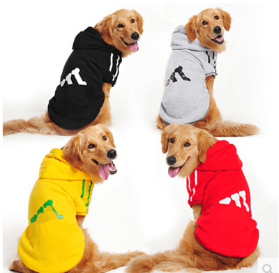 ab9928272697 Golden Retriever dog clothes large dogs autumn Teddy Labrador pet big dog  winter