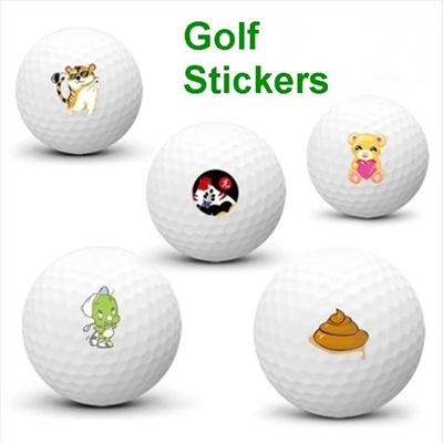 Qoo10 Golf Ball Sticker Series 1pack 2sheet Golf Ball