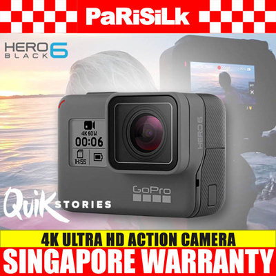 GoPro HERO 6 Black 4K Ultra HD Action Camera - Singapore Warranty 08358a7ff