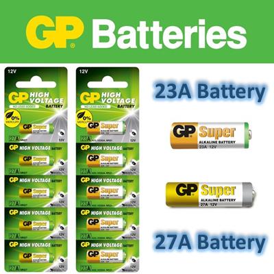 23A   27A Battery GP 12V Alkaline ☆ A23 V23GA MN21  8a224fbbaedc2
