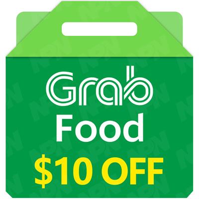 GrabFood $10 E-Voucher (Promo Code) 🍴SGD10 Off/Gift Voucher/Food  Delivery/Grab Gift/Voucher Code🍴