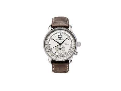 d51e7743abf Qoo10 - Graf Zeppelin Dual Time Big Date 100 Years of Zeppelin Watch 7640-1    Watch   Jewelry