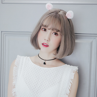 90 hair styles qoo10 wig bangs hair korean air ash 2282