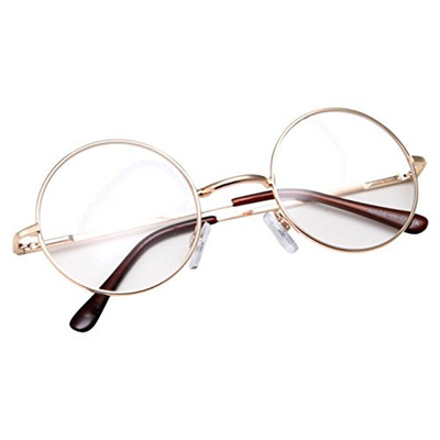 a9456c4fa6e Qoo10 - grinderPUNCH - Non-Prescription Round Circle Frame Clear Lens  Glasses ...   Fashion Accessor.