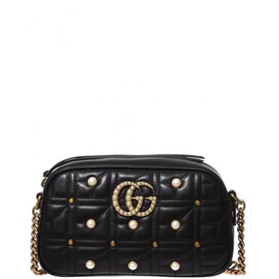 d6c230eec0aa20 Qoo10 - gucci 447632DRWYT1091 Marmont Matelassé Pearls : Bag / Wallet